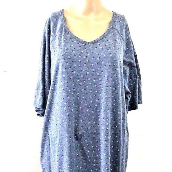 d65a7d0b23 Basic Editions Other - Basic Edition Plus Sz 1X Night Gown Short Sleeve